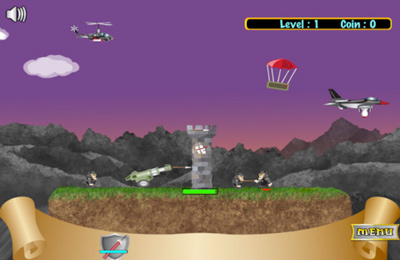 Free Defend The Fortress download for iPhone, iPad and iPod.