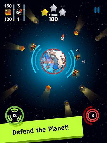 Download Defend the planet iPhone free game.