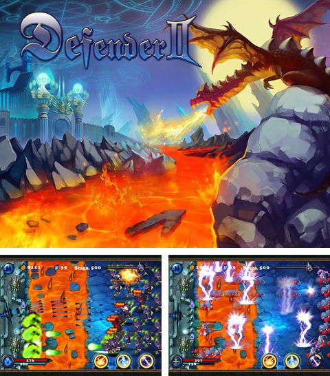 In addition to the game Eternity Warriors for iPhone, iPad or iPod, you can also download Defender 2 for free.