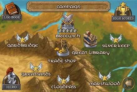 Download Defender Chronicles iPhone free game.