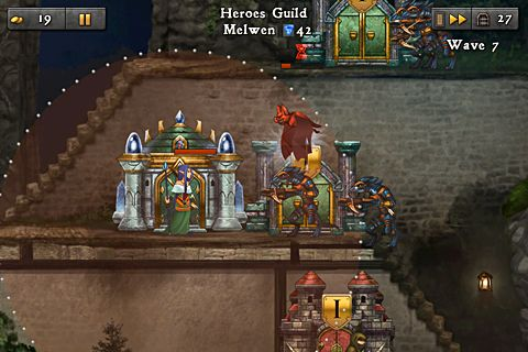 Baixe o jogo Defender chronicles 2: Heroes of Athelia para iPhone gratuitamente.