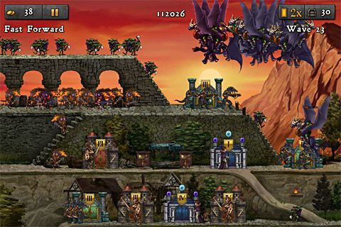 Kostenloser Download von Defender chronicles 2: Heroes of Athelia für iPhone, iPad und iPod.