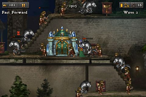 Capturas de pantalla del juego Defender chronicles 2: Heroes of Athelia para iPhone, iPad o iPod.
