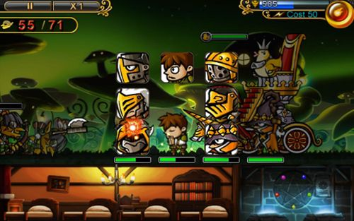 Download Defender of diosa iPhone free game.