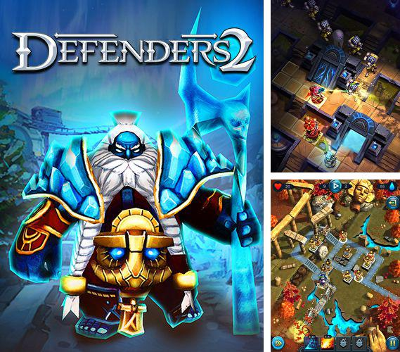 In addition to the game Funny farm for iPhone, iPad or iPod, you can also download Defenders 2 for free.