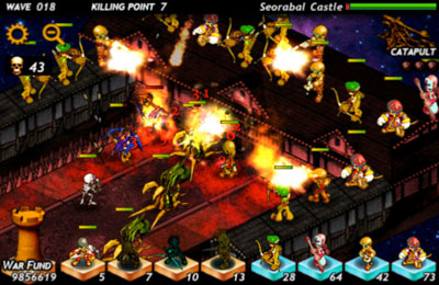 Screenshots do jogo Defense of Fortune: The Savior para iPhone, iPad ou iPod.