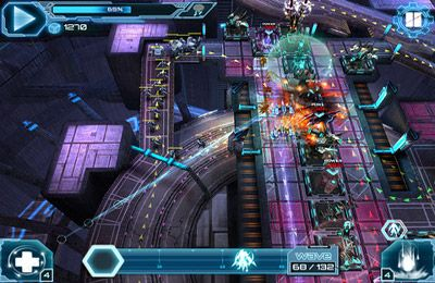 Écrans du jeu Defense Technica pour iPhone, iPad ou iPod.