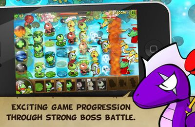 Screenshots vom Spiel Defense Warrior RibbitRibbit Plus für iPhone, iPad oder iPod.