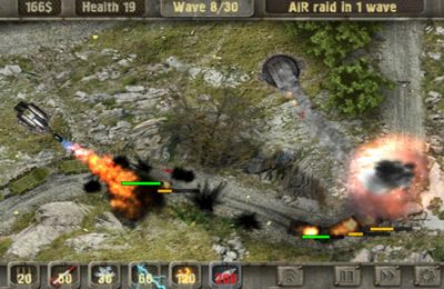 Download Defense zone HD iPhone free game.