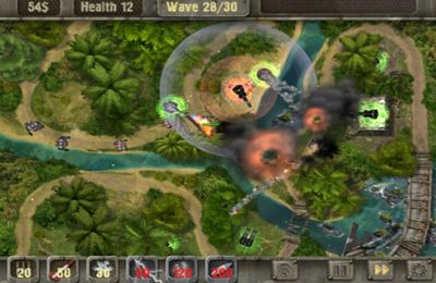 Free Defense zone HD download for iPhone, iPad and iPod.