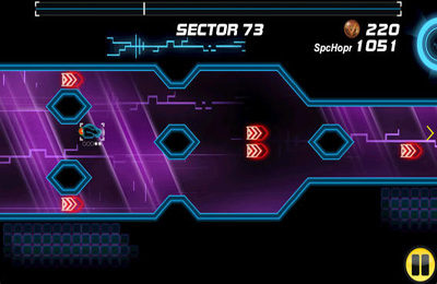 Screenshots of the Delta-V Racing game for iPhone, iPad or iPod.
