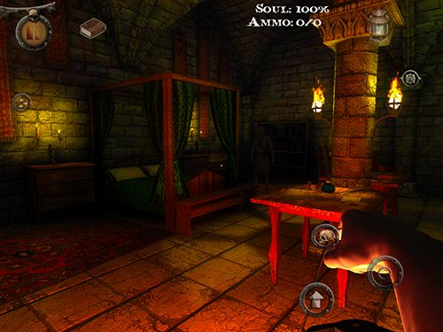Capturas de pantalla del juego Dementia: Book of the dead para iPhone, iPad o iPod.