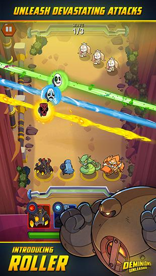 Screenshots do jogo Deminions unleashed para iPhone, iPad ou iPod.