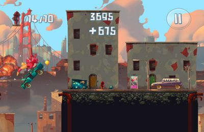 Screenshots of the Demolition Dash HD game for iPhone, iPad or iPod.