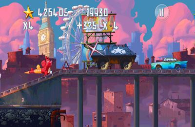 Screenshots vom Spiel Demolition Dash HD für iPhone, iPad oder iPod.