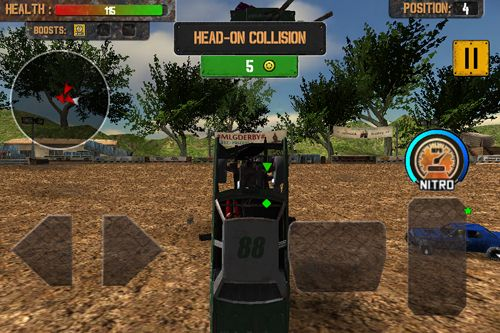 Скачать Demolition derby: Crash racing на iPhone бесплатно