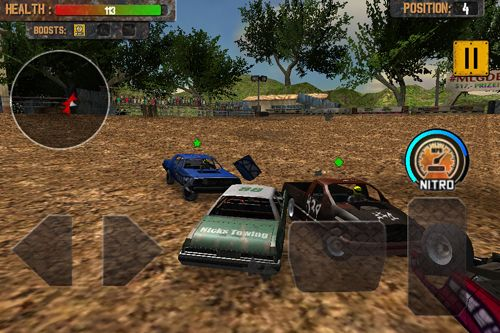 Скачать игру Demolition derby: Crash racing для iPad.