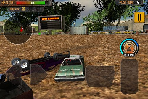 Игра Demolition derby: Crash racing для iPhone