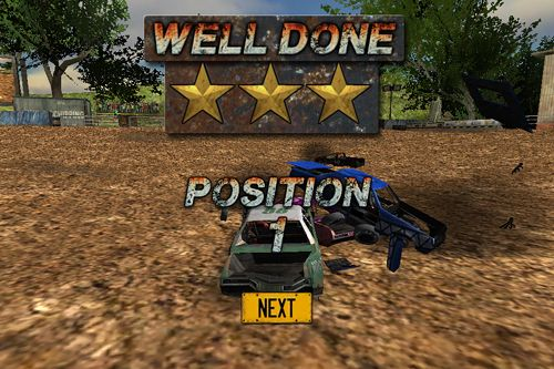 Геймплей Demolition derby: Crash racing для Айпад.