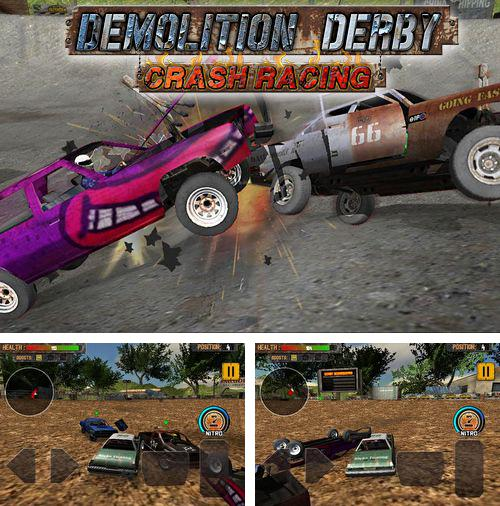 除了 iPhone、iPad 或 iPod 农场主游戏,您还可以免费下载Demolition derby: Crash racing, 。