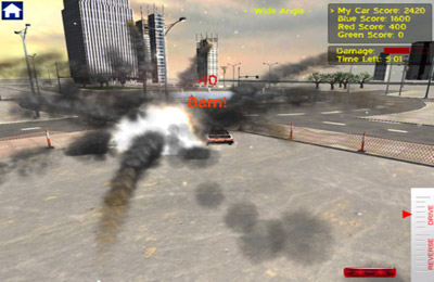 Kostenloser Download von Demolition Derby Reloaded für iPhone, iPad und iPod.