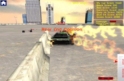 Screenshots vom Spiel Demolition Derby Reloaded für iPhone, iPad oder iPod.