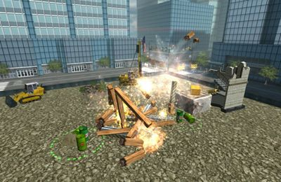 Screenshots of the Demolition Master 3D game for iPhone, iPad or iPod.