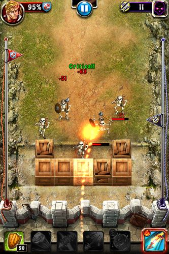 Capturas de pantalla del juego Demon assault: The ultimate strategy para iPhone, iPad o iPod.
