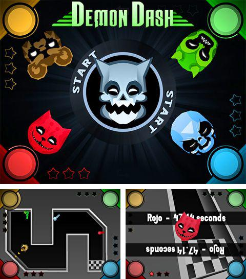 In addition to the game Paper Racer for iPhone, iPad or iPod, you can also download Demon dash for free.
