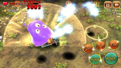 Download Demong hunter iPhone free game.
