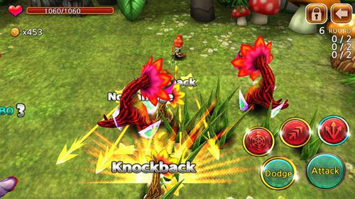 Screenshots of the Demong hunter game for iPhone, iPad or iPod.