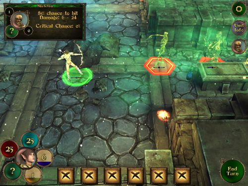 Screenshots do jogo Demon's rise para iPhone, iPad ou iPod.