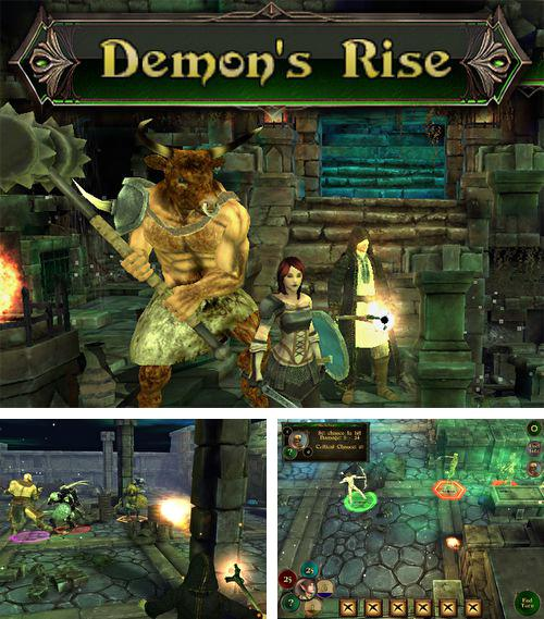 In addition to the game Mad Truck 2 for iPhone, iPad or iPod, you can also download Demon's rise for free.