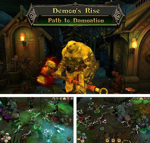 除了 iPhone、iPad 或 iPod 游戏,您还可以免费下载Demon's rise 2: Path to damnation, 。