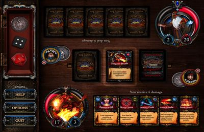 Kostenloser Download von Demons vs. Wizards – Magic Card & Dice Game für iPhone, iPad und iPod.