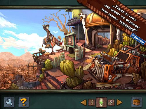 Descarga gratuita de Deponia para iPhone, iPad y iPod.