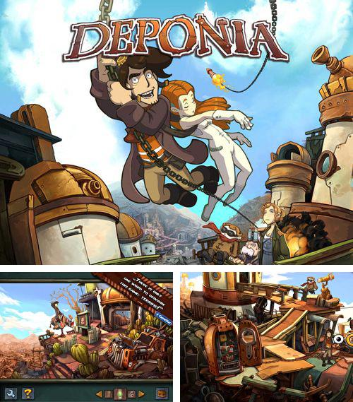 In addition to the game Disney: XD Grand prix for iPhone, iPad or iPod, you can also download Deponia for free.