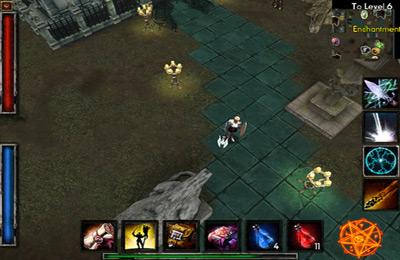Screenshots of the Deprofundis Dungeons game for iPhone, iPad or iPod.