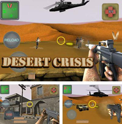 In addition to the game Pirrrates! for iPhone, iPad or iPod, you can also download Desert Crisis for free.