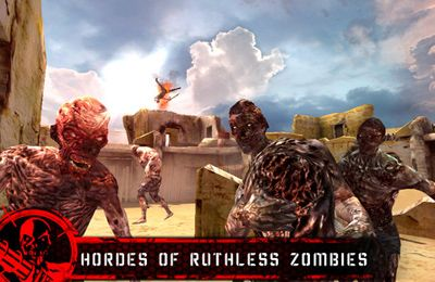 Download Desert Zombie Last Stand iPhone free game.
