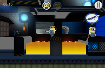 Screenshots vom Spiel Despicable Me: Minion Mania für iPhone, iPad oder iPod.