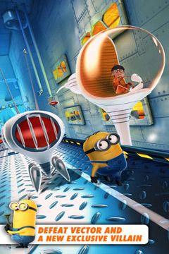 Download Despicable Me: Minion Rush iPhone free game.
