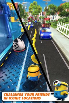 Скачать игру Despicable Me: Minion Rush для iPad.