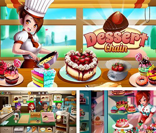 Download Dessert chain: Coffee and sweet iPhone free game.