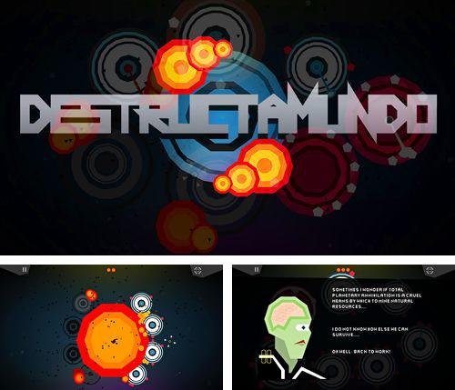 In addition to the game Rayman Fiesta Run for iPhone, iPad or iPod, you can also download Destructamundo for free.