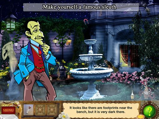 Download Detective Holmes: Trap for the hunter - hidden objects adventure iPhone free game.