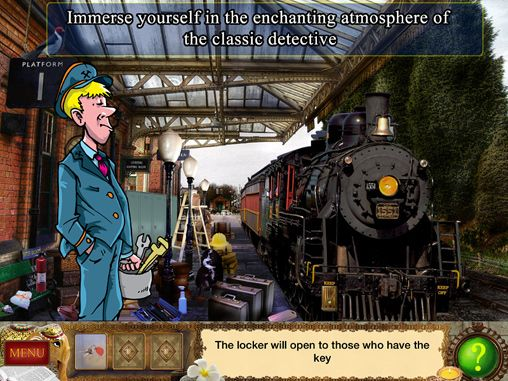 Free Detective Holmes: Trap for the hunter - hidden objects adventure download for iPhone, iPad and iPod.