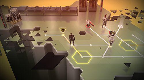 Screenshots of the Deus ex: Go game for iPhone, iPad or iPod.
