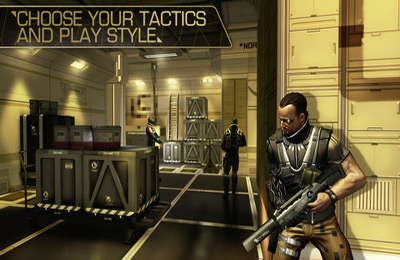 Download Deus Ex: The Fall iPhone free game.