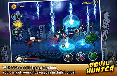 Download Devil Hunter I iPhone free game.